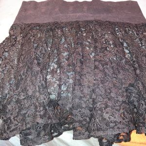Selections lace skirt